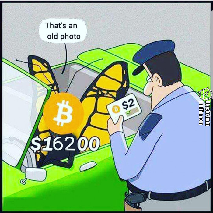 That's an old photo of Bitcoin