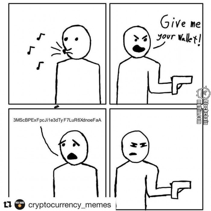 Give me your Bitcoin Wallet