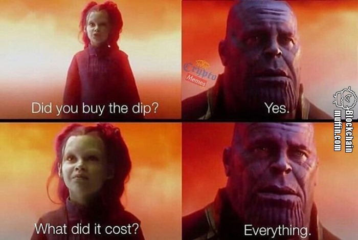 Did you buy the dip?