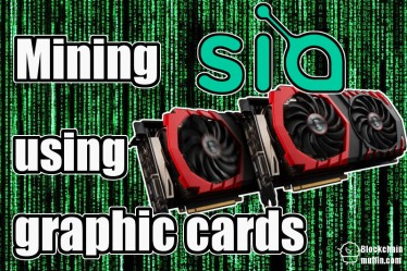 How to mine Sia Coin using graphic cards?