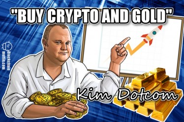 Kim Dotcom advises: invest in Bitcoin and Gold
