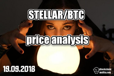 Stellar XLM  / Bitcoin BTC - Price analysis 19 september 2018